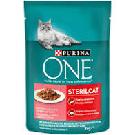 Purina one 85gr Steril