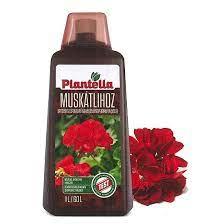 Plantella tápoldat 1l Muskátli