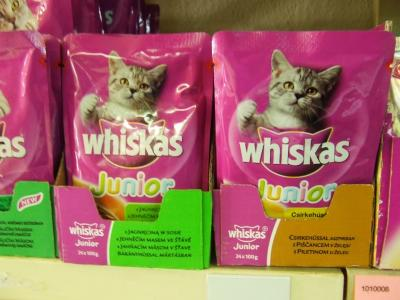 Whiskas Junior Alutasakos 100 g Bárány ízben