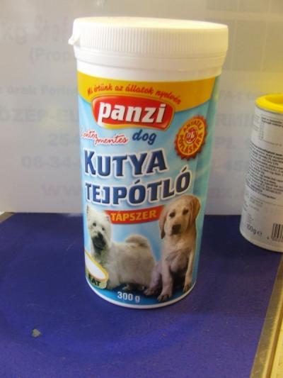 Panzi Tejpor kutyáknak
