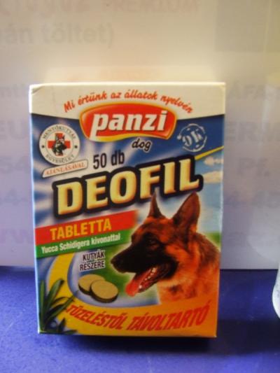 Panzi Deofil tabletta (kutyák száj és testszagának csökkenését s