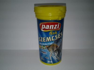 Panzi Szemcsés haltáp 50 ml