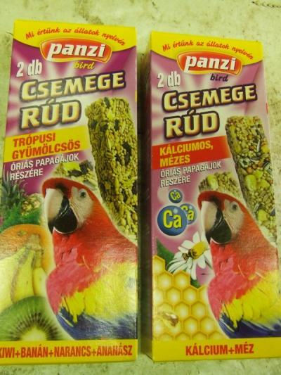 Panzi Csemegerúd Óriáspapagájnak 2 db Trópusi gyümölcsös íz