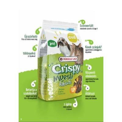Nyúl eleség Crispy Muesli 1 kg