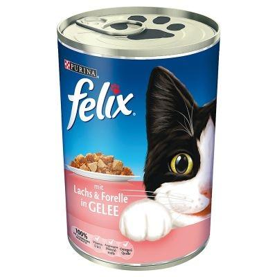 Felix 400 g Lazac-rák ízben zselében