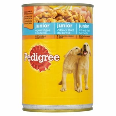 Pedigree Junior 400 g Csirke ízben