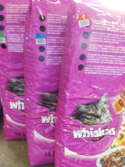 Whiskas Adult 1 kg SAJÁT kiszerelésben Csirke ízben