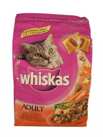 Whiskas Adult 300 g Marha ízben