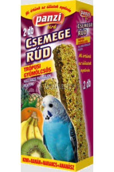 Panzi Csemegerúd Hullámos papagájnak 2 db Trópusi gyümölcsös íz