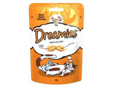 Dreamies Töltött jutalom falat 60 gr | Csirkés
