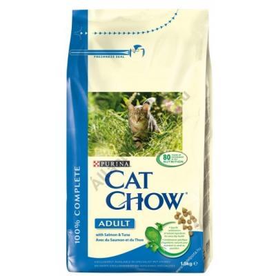 Cat Chow adult, tonhalas cicatáp SAJÁT kiszerelésben 1 kg