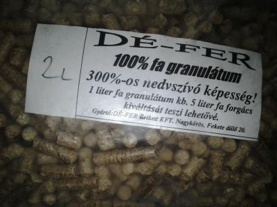 Natur fa granulátum pellet alom 2 liter