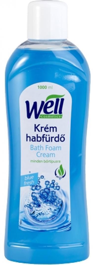Well krém habfürdő Blue fresh illat 1000ml