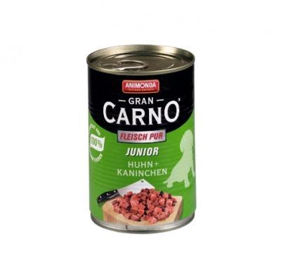 Animonda Gran Carno Junior 400g Csirke - Nyúl ízben