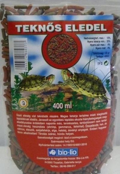 Bio-Lio Teknőseledel 400 ml
