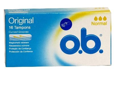O.B tampon 16 db Normal