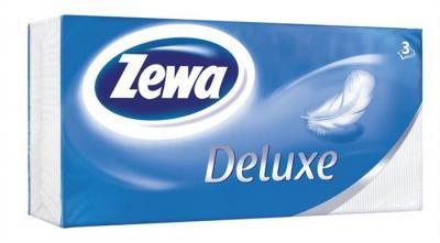 Zewa Deluxe papír zsebkendő Pure White