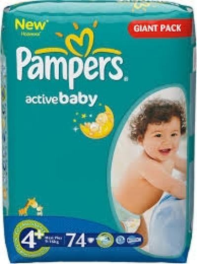 Pampers Active Dry (4+)