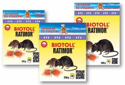 Biotoll ratimor rágcsálóírtó pép 1 kg