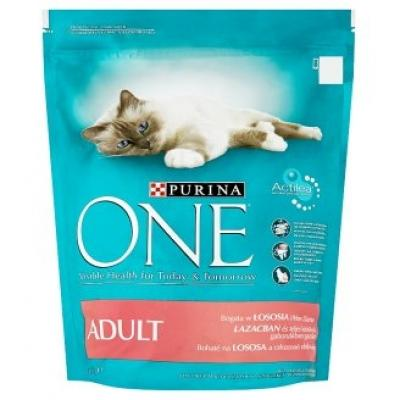 Purina ONE adult 200 g lazacos ízben