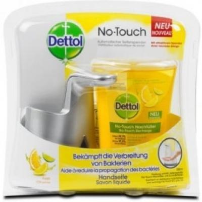 Dettol érintés nélküli citrusmix kézmosó készülék 250ml