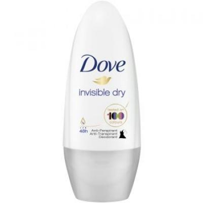Dove invisible dry 100 golyós dezodor 50ml