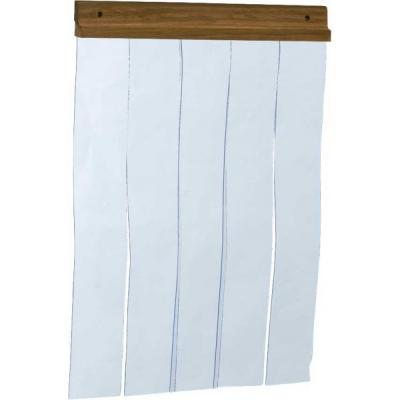 PVC függöny kutyaházra 45x58