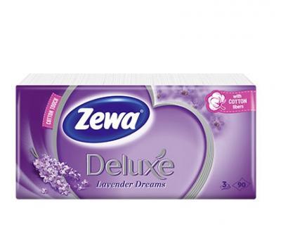 Zewa papírzsebkendő Levendula