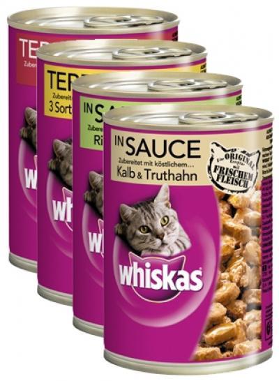 Whiskas 400 g Lazac zselében