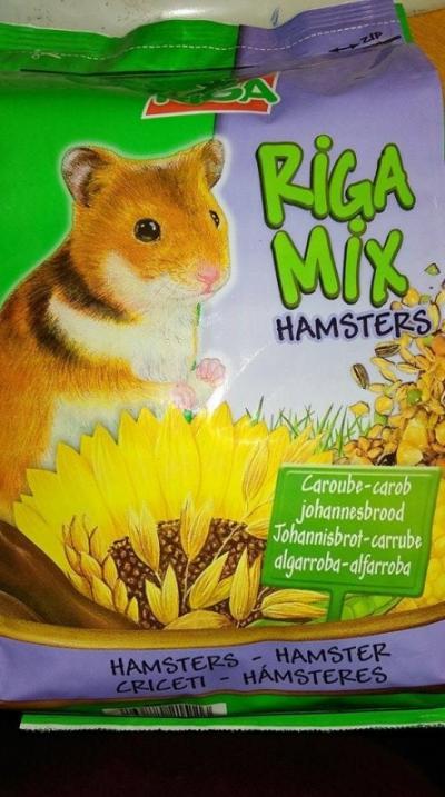 Riga mix hörcsögöknek 1,5 kg