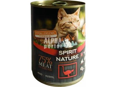 Spirit of Nature Cat konzerv strucchússal 415gr