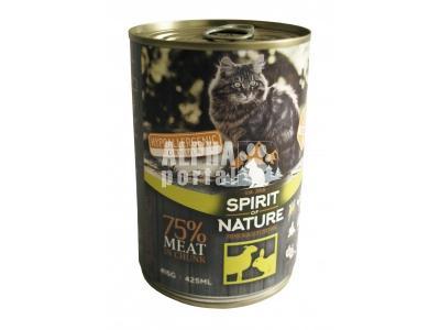 Spirit of Nature Cat konzerv bárány és nyúlhússal 415gr