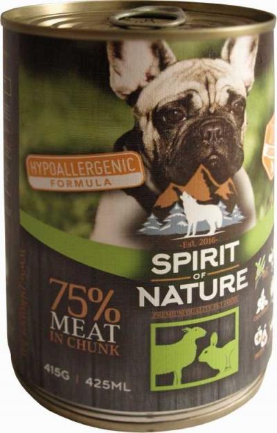 Spirit of Nature Bárány és nyúl hússal 415g