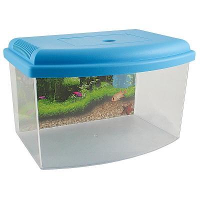 Műanyag akvárium,terrárium 14 L