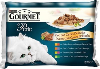 Gourmet perlé 4*85g Lazacos