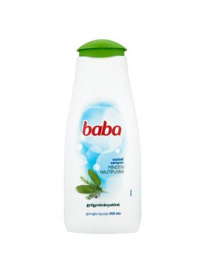Baba Sampon Gyógynövényekkel 400ml