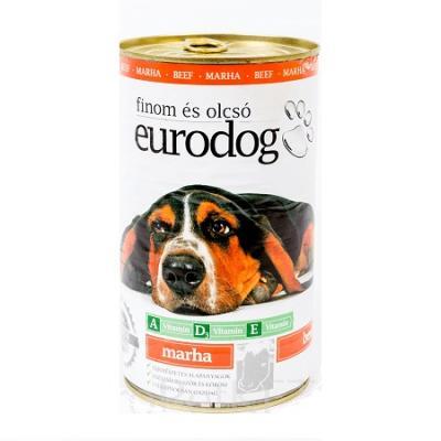 Euro dog 1240 g marhás ízben
