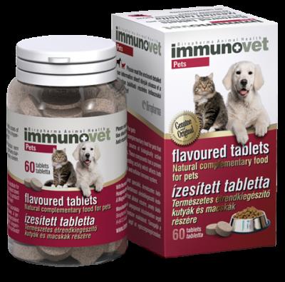 Immunovet Pets Immunerősítő Tabletta 60db