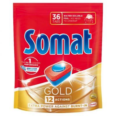 Somat mosogatógép tabletta 36 db-os Gold