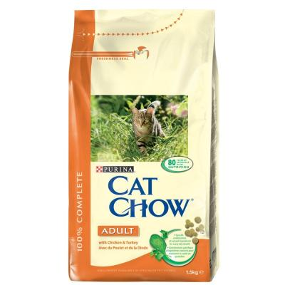 Cat Chow adult, csirkehúsos  15 kg