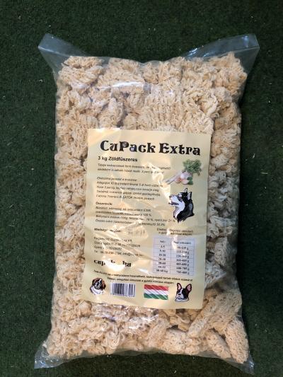 CuPack Extra Zöldfűszeres 3Kg