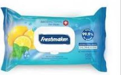 Freshmaker 120db Antibakteriális törlőkendő