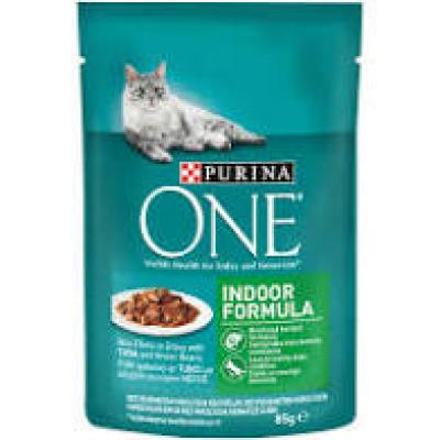 Purina one 85gr Indor