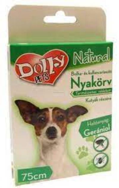 Dolly natural bolha kullancs nyakörv kutyának