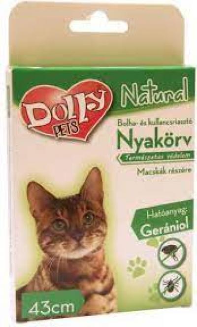 Dolly natural bolha kullancs nyakörv cicának
